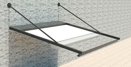 Pergola normal ray. Askılı